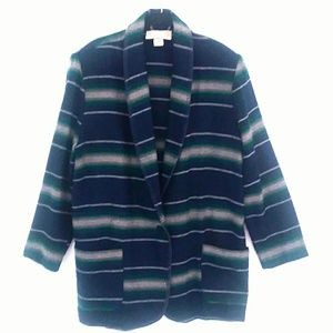 Vintage 90s Bonjour Oversized Blazer Jacket Size L